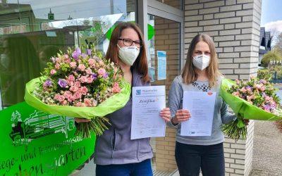 Glückwunsch Marina und Viola!